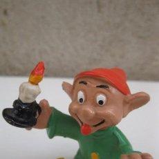 Figuras de Goma y PVC: MUDITO - BLANCANIEVES Y LOS SIETE ENANITOS - FIGURA DE PVC - WALT DISNEY - COMICS SPAIN.. Lote 64603839