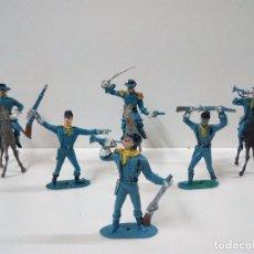 Figuras de Goma y PVC: SOLDADOS FEDERALES . COMANSI . AÑOS 70. Lote 64749219