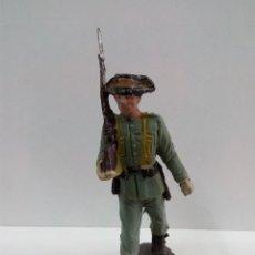 Figuras de Goma y PVC: GUARDIA CIVIL . DESFILE PECH . AÑOS 60 EN PLASTICO. Lote 64834319