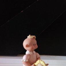 Figuras de Goma y PVC: ANTIGUA FIGURA NIÑO CABALLITO DIBUJOS ANIMADOS.. Lote 64842231