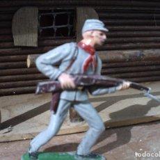 Figuras de Goma y PVC: SOLDADO CONFEDERADO DE LA BATALLA DE GETTYSBURG. Lote 64865843