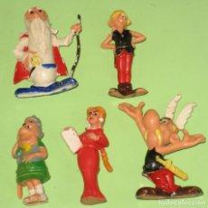 Figuras de Goma y PVC: LOTE FIGURAS HUILOR SERIE ASTERIX Y OBELIX. Lote 64869067