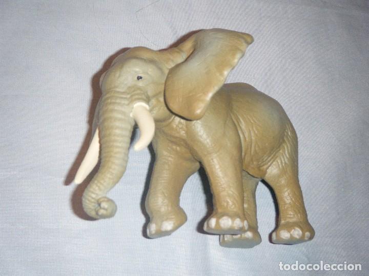 Figuras de Goma y PVC: ELEFANTE SCHLEICH del año 1995 - Foto 2 - 65369767