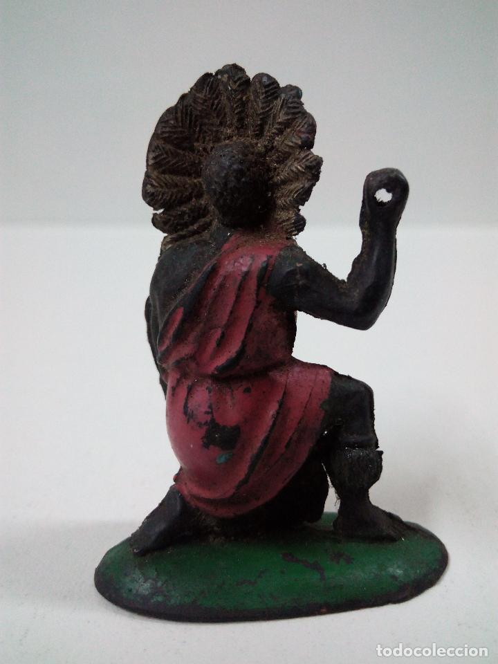 Figuras de Goma y PVC: GUERRERO AFRICANO KAKUANA . REALIZADO POR PECH . AÑOS 50 EN GOMA - Foto 2 - 65901774
