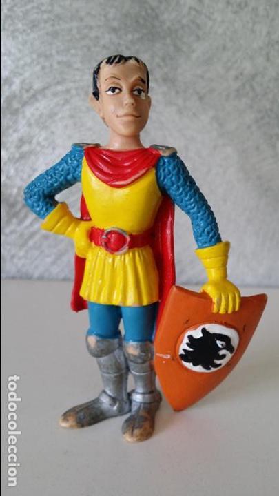 FIGURA PVC EL CABALLERO CÓMICS SPAIN DRAGONES Y MAZMORRAS (Juguetes - Figuras de Goma y Pvc - Comics Spain)