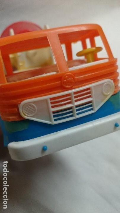 Figuras de Goma y PVC: CAMIÓN DE PLASTICO HORMIGONERA PEGASO - Foto 3 - 65952414