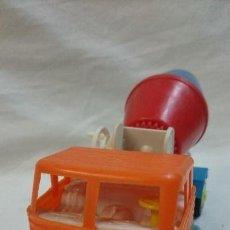 Figuras de Goma y PVC: CAMIÓN DE PLASTICO HORMIGONERA PEGASO. Lote 65952414