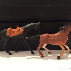 Figuras de Goma y PVC: LOTE FIGURAS PVC CABALLOS COMANSI. Lote 65968585