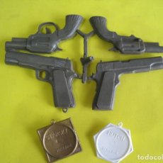Figuras de Goma y PVC: MONTAPLEX-COLADA SIN DESPEGAR DE STARSKY AND HUTCH MAS 2 PLACAS-NUMERO 227-228. Lote 65993402
