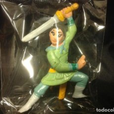Figuras de Goma y PVC: FIGURA PVC MULAN CON ESPADA BULLYLAND. Lote 66022106