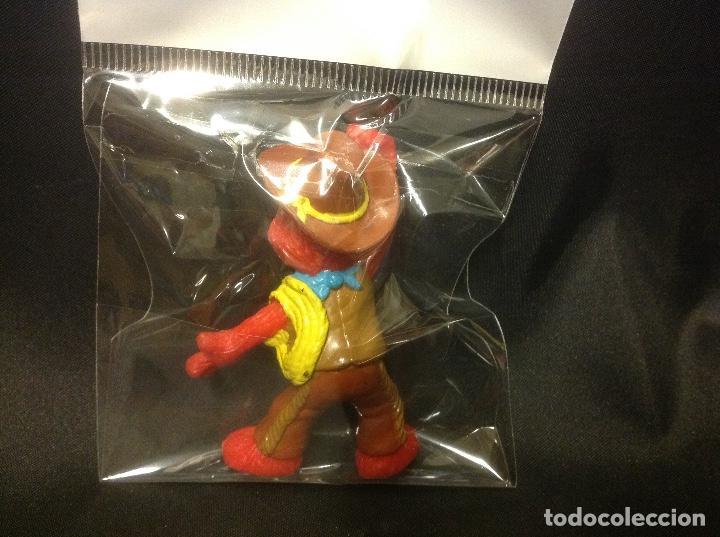 Figuras de Goma y PVC: Figura pvc Elmo cowboy barrio sésamo vaquero applause - Foto 2 - 66025114