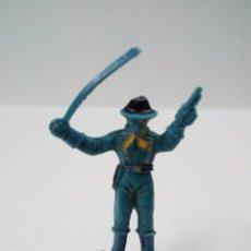Figuras de Goma y PVC: SOLDADO FEDERAL . COMANSI . MINI OESTE. Lote 66137526