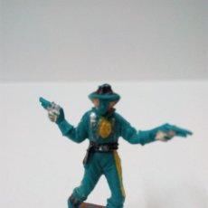 Figuras de Goma y PVC: SOLDADO FEDERAL . COMANSI . MINI OESTE. Lote 66137846