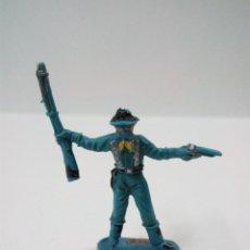 Figuras de Goma y PVC: SOLDADO FEDERAL . COMANSI . MINI OESTE. Lote 66138006