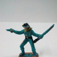 Figuras de Goma y PVC: SOLDADO FEDERAL . COMANSI . MINI OESTE. Lote 66138310