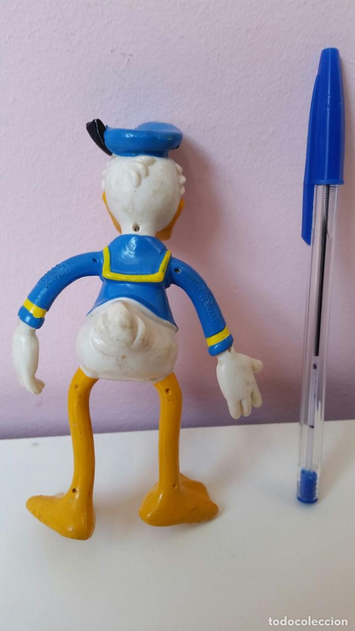 Figuras de Goma y PVC: figura goma flexible pvc disney pato donald bully west germany - Foto 2 - 66156442