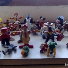 Figuras de Goma y PVC: LOTE DE MUÑECOS Y FIGURAS DE GOMA, PVC, PLASTICO Y SIMILARES SURTIDO VARIADO DE TODO UN POCO 35 UDS.. Lote 66237818