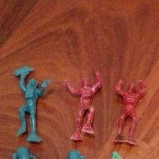 Figuras de Goma y PVC: BUZOS DE MONTAMAN-MONTAPLEX. AÑOS 70. Lote 66280590