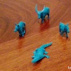 Figuras de Goma y PVC: ANIMALES DE MONTAMAN-MONTAPLEX.AÑOS 70. Lote 66280866