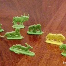 Figuras de Goma y PVC: ANIMALES DE MONTAMAN-MONTAPLEX. AÑOS 70. Lote 66280906