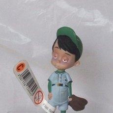 Figuras de Goma y PVC: FIGURA PVC MIKE - MEET THE ROBINSONS - ORIGINAL DE BULLYLAND. Lote 62998732