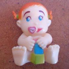 Figuras de Goma y PVC: FIGURA BEBÉ DE GOMA 4 CM. Lote 66399142