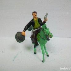 Figuras de Goma y PVC: FIGURA COMANSI PRIMERA EPOCA - VAQUERO DE COMANSI ANTIGUO. Lote 66451850