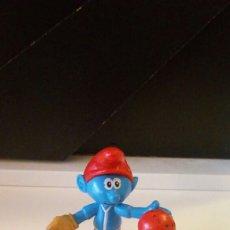 Figuras de Goma y PVC: FIGURA PVC PITUFO.. Lote 66452847