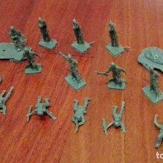 Figuras de Goma y PVC: PARACAIDISTAS AMERICANOS DE MONTAPLEX. AÑOS 70. Lote 66494918