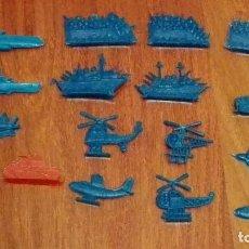 Figuras de Goma y PVC: AVIONES Y BARCOS PLANOS DE MONTAPLEX. AÑOS 70. Lote 66495790