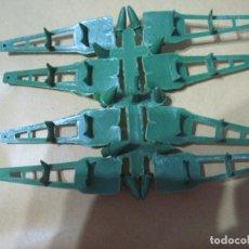 Figuras de Goma y PVC: MONTAPLEX-COLADA CARROS DE MISELES-EJUSA-AÑOS 80. Lote 66782238
