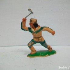 Figurines en Caoutchouc et PVC: FIGURA TRAMPERO REAMSA - SERIE POLICIA MONTADA DEL CANADA DE REAMSA. Lote 66794026