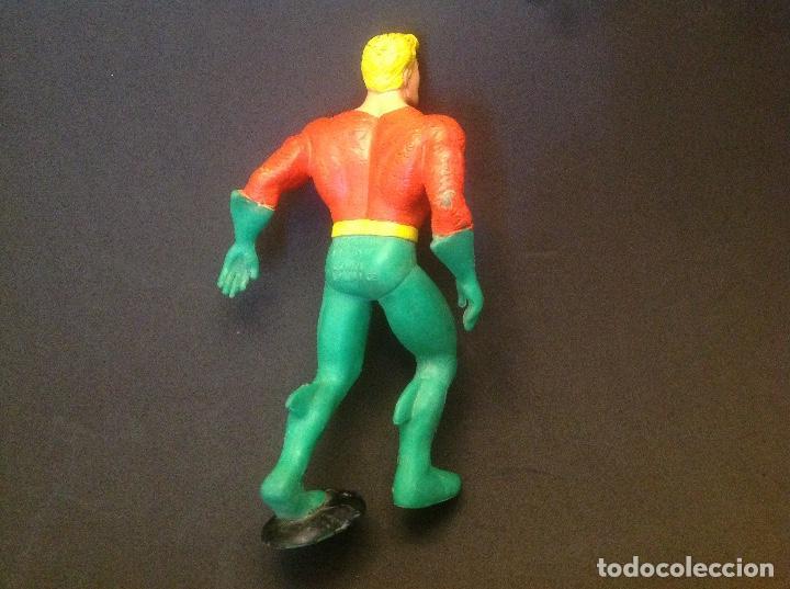 Figuras de Goma y PVC: Figura pvc Aquaman comics spain 1991 - Foto 3 - 66874306