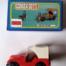 Figuras de Goma y PVC: JEEP DE COMAN BOYS, COMANSI.. Lote 66888414