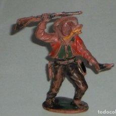 Figuras de Goma y PVC: FIGURA VAQUERO EN GOMA - LAFREDO. Lote 67092881