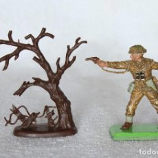 Figuras de Goma y PVC: SOLDADO INGLES BRITAINS LTD 1971 DEETAIL MADE IN ENGLAND BRITISH SOLDIER 5. Lote 221224673