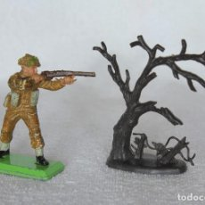 Figuras de Goma y PVC: SOLDADO INGLES BRITAINS LTD 1971 DEETAIL MADE IN ENGLAND BRITISH SOLDIER 9. Lote 67161881