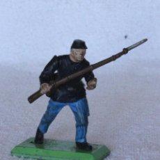 Figuras de Goma y PVC: SOLDADO NORTEAMERICANO BRITAINS LTD 1971 DEETAIL MADE IN ENGLAND US SOLDIER CIVIL WAR 2. Lote 67166157