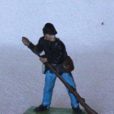 Figuras de Goma y PVC: SOLDADO FEDERAL BRITAINS LTD 1971 DEETAIL MADE IN ENGLAND US SOLDIER CIVIL WAR 6. Lote 67167117
