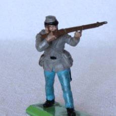 Figuras de Goma y PVC: SOLDADO CONFEDERADO BRITAINS LTD 1971 DEETAIL MADE IN ENGLAND CONFEDERATE SOLDIER CIVIL WAR 2. Lote 67167661