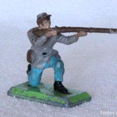 Figuras de Goma y PVC: SOLDADO CONFEDERADO BRITAINS LTD 1971 DEETAIL MADE IN ENGLAND CONFEDERATE SOLDIER CIVIL WAR 3. Lote 67167913