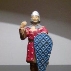 Figuras de Goma y PVC: FIGURA PLASTICO SOLDADO SERIE EL CID REAMSA 6,5 CM. Lote 73064291