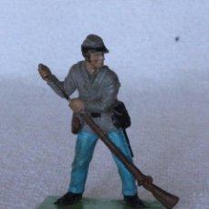 Figuras de Goma y PVC: SOLDADO CONFEDERADO BRITAINS LTD 1971 DEETAIL MADE IN ENGLAND CONFEDERATE SOLDIER CIVIL WAR 5. Lote 67168433
