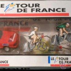Figuras de Goma y PVC: CAJA FIGURAS TOUR DE FRANCIA.. Lote 67208013