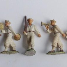 Figuras de Goma y PVC: LOTE DE 5 FIGURAS DE SOLDADOS DE PVC. AÑOS 70.. Lote 67286033