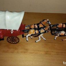 Figuras de Goma y PVC: CARRETA DE PLASTICO POSIBLEMENTE COMANSI. Lote 67327661