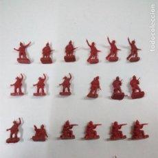 Figuras de Goma y PVC: LOTE SOLDADITOS MONTAPLEX. Lote 67650565