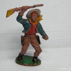 Figuras de Goma y PVC: FIGURA VAQUERO DE LAFREDO. Lote 67706693