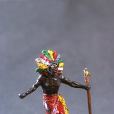 Figuras de Goma y PVC: NEGRO GUERRERO DEL SAFARI.. Lote 68130109