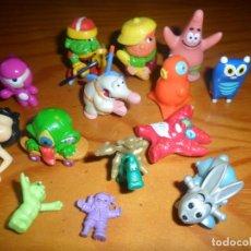 Figuras Kinder: LOTE DE FIGURAS KINDER SORPRESA Y DE OTROS PREMIOS CHICLES PASTELITOS.... Lote 68146293